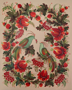 GUELDER ROSE -  16 in x 20 in (40.6 cm x 50.8 cm)
