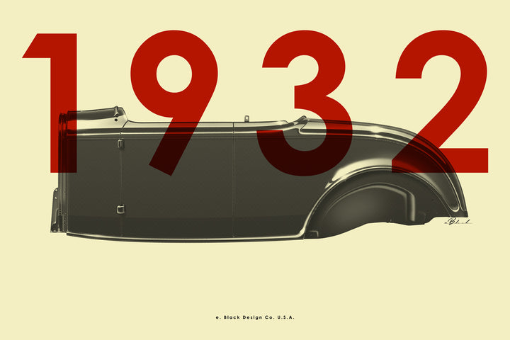 POSTER: ROADSTER:1932