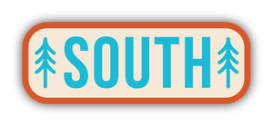 South Trees Sticker