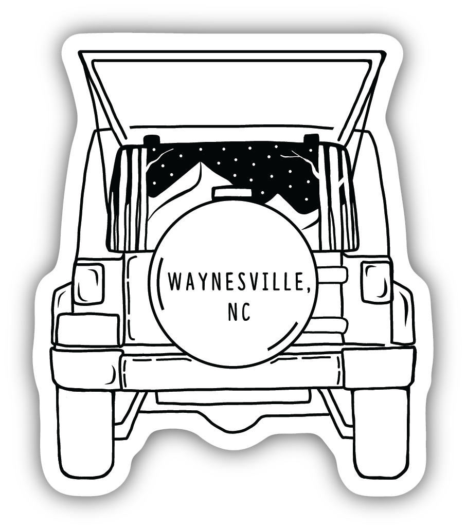 Waynesville Jeep Sticker