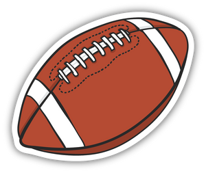 Football Sketch Sticker