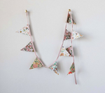 Load image into Gallery viewer, Printed Floral Flag Garland