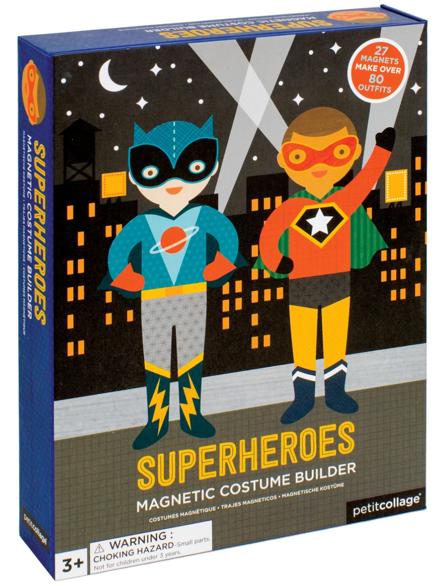 Superheroes Magnetic Dress-Up