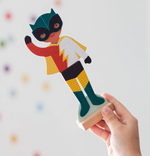 Load image into Gallery viewer, Superheroes Magnetic Dress-Up