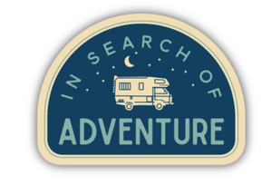In Search of Adventure Sticker