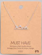 Load image into Gallery viewer, Mountain Pendant|Silver
