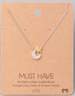 Load image into Gallery viewer, Crescent Moon Charm|Silver