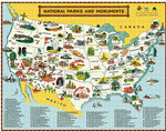 Load image into Gallery viewer, National Parks Map 1000 Piece Puzzle