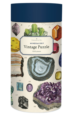 Mineralogy 1000 Piece Puzzle