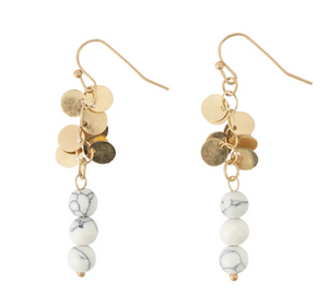 Howlite and Dangle