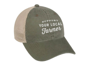 """Support Your Local Farmer"" Hat"