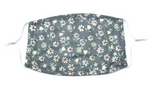 Load image into Gallery viewer, Adjustable Dainty Grey Floral