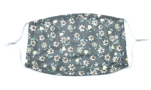Adjustable Dainty Grey Floral