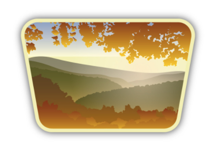 Sunrise Valley Sticker