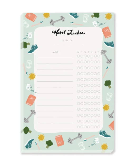 Habit Tracker Notepad