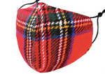 Load image into Gallery viewer, Red Fleece Plaid