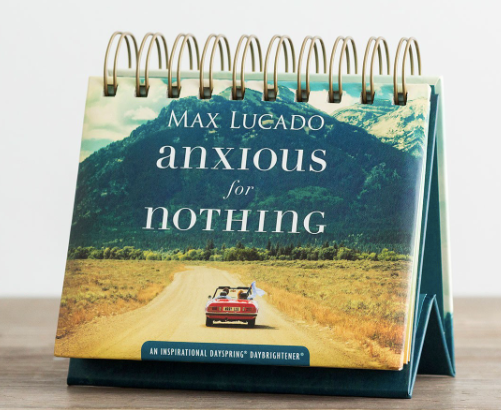 """Anxious for Nothing"" - Perpetual Calendar"