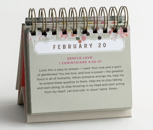 """A Prayer a Day"" - Perpetual Calendar"
