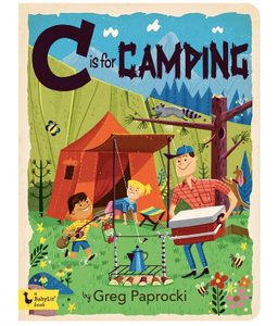 """C is for Camping"" Board Book"