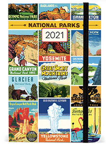 National Parks Weekly Planner