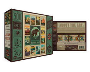 National Parks- Special Edition Bear Puzzle