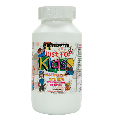 Just For Kids Multivitaminas para Niños