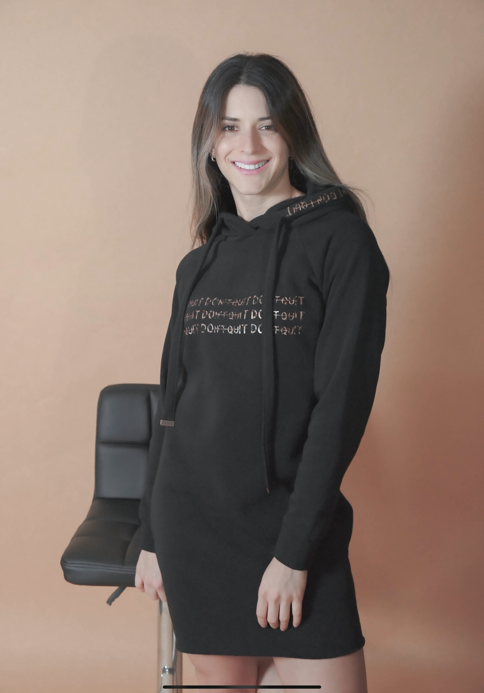 DOnt quIT Hoodie dress