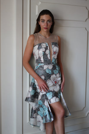 Cocktail Floral dress