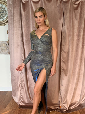 Inna Metallic dress