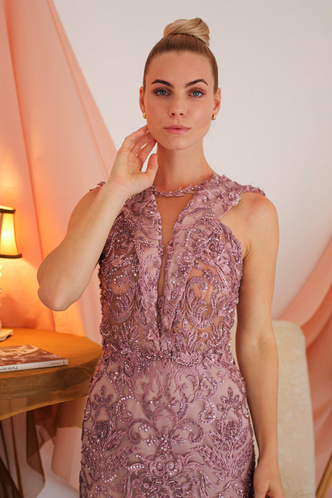 Antoinette Embroidered Dress