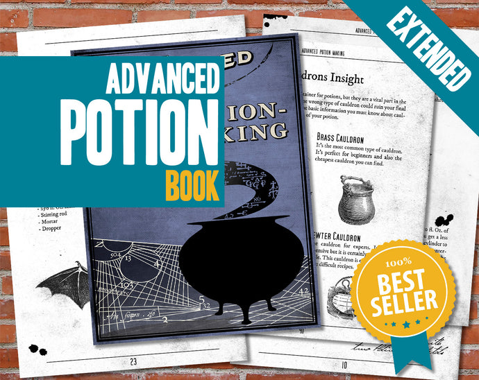 graphic about Advanced Potion Making Printable referred to as Geeks Dragons - Magical Publications, Spells, Potions, Heritage of