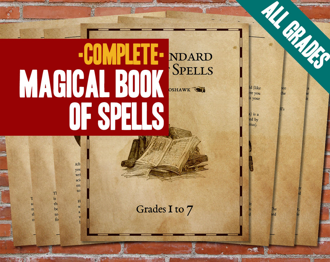 Standard Book of Spells - Complete