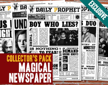 Load image into Gallery viewer, Daily Prophet Covers - Collector's Pack