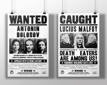 Load image into Gallery viewer, Death Eaters Wanted Poster Pack
