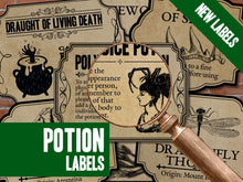 Load image into Gallery viewer, Potion & Ingredient Labels