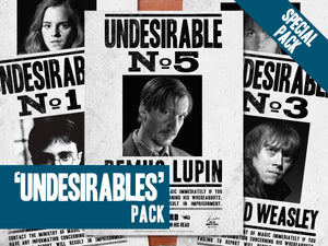 Undesirables Poster Pack