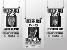 Load image into Gallery viewer, Undesirables Poster Pack