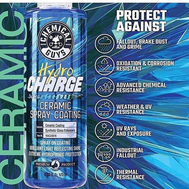 HydroCharge SiO2 Ceramic Spray Sealant (16 Fl. Oz.)