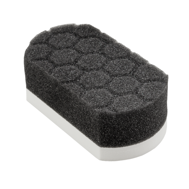 Easy Grip Soft Hex-Logic Hand Applicator Pad, White