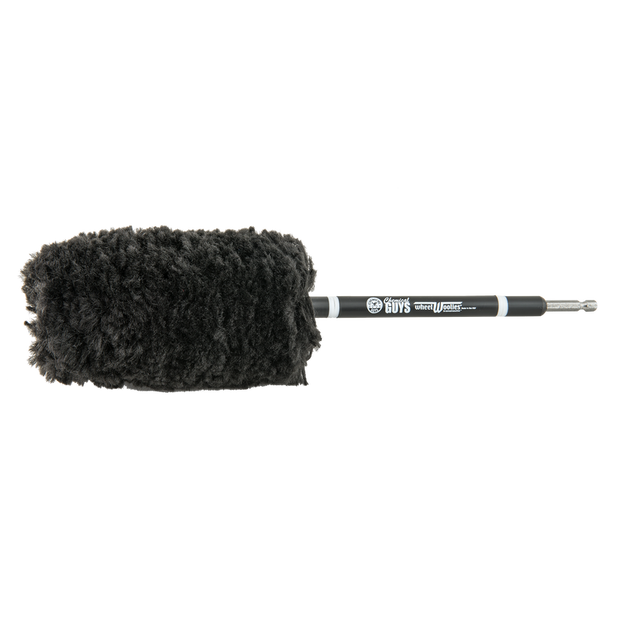 Power Woolie Microfiber Wheel Brush with Drill Adapter