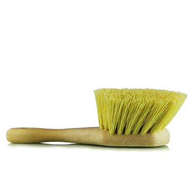 Utility Brush Strong Yellow Bristles-Wheel-Fender Tire & Rim