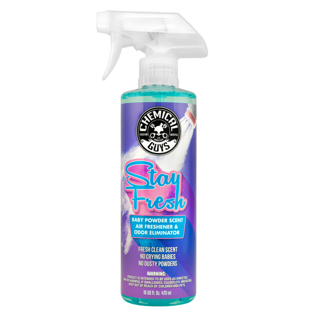 Stay Fresh Baby Powder Scented Air Freshener & Odor Eliminator (16oz)