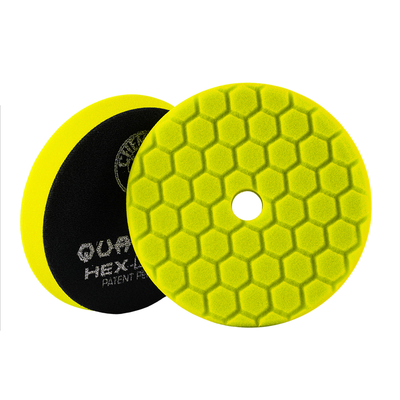 YELLOW HEX-LOGIC QUANTUM HEAVY CUTTING PAD