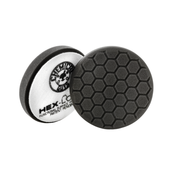Hex-Logic Pad Black Finishing Pad