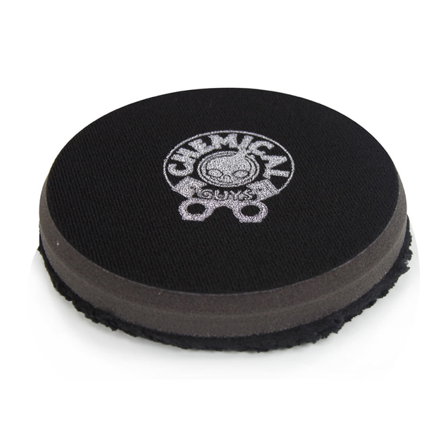 "Finishing Micro Fiber Pad, Black Inner Foam, 3/4"" Thickness (1pcs)"