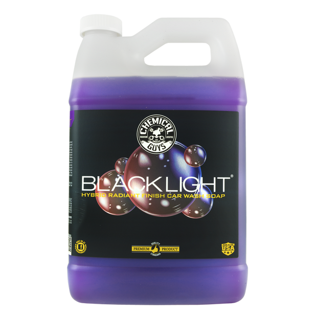 BlackLight Car Wash Soap - 1 Gallon