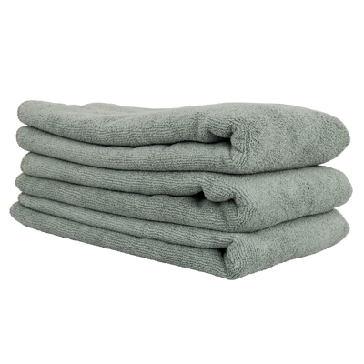 "Workhorse Gray Professional Grade Microfiber Towel, 16"" X 24"" (Metal)(3-Pack)"