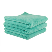 The Workhorse Towel Professional Grade Microfiber Towels, Green (3 Pack)