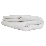 "Elegant Edgeless Microfiber Towel, White 51"" X 30"""