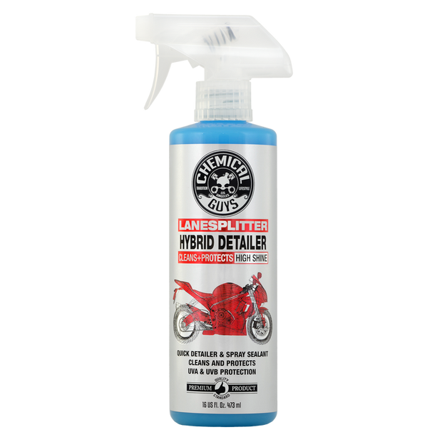 Lane Splitter Hybrid Detailer High Shine Cleaner and Protectant for Motorcycles(16oz)